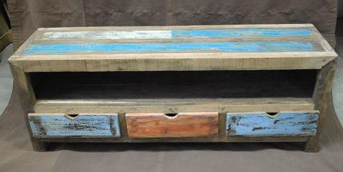 mobile porta tv in legno riciclato