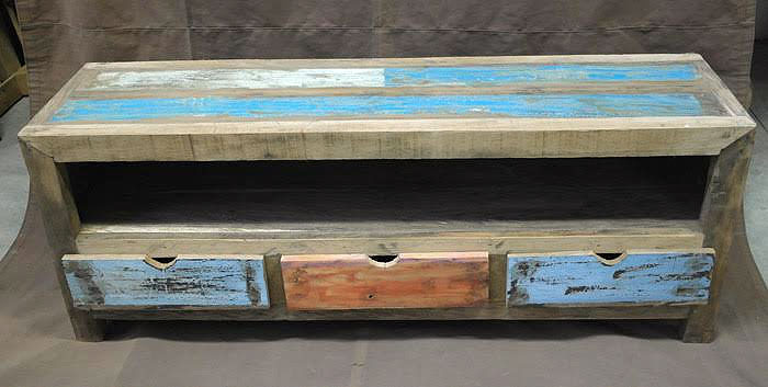 Mobile Porta tv legno riciclato - nuovimondi