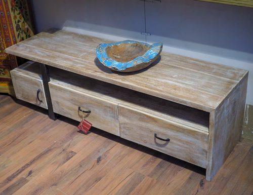 porta tv legno