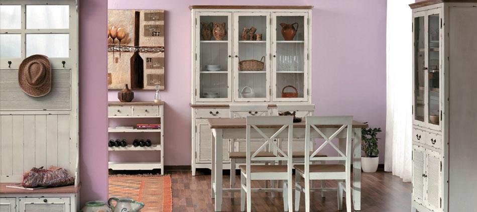 Arredamento shabby chic on line offerte mobili shabby for Case in stile artigiano in vendita in california