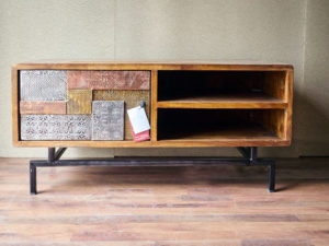 Industrial vintage arredamento mobili in stile industriale - Mobile tv stile industriale ...