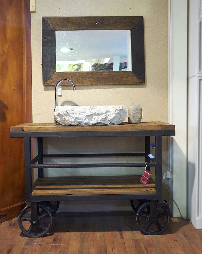 Mobile bagno industriale offerta on line arredo bagno industrial