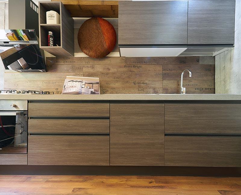 Cucina lineare moderna in offerta - nuovimondi