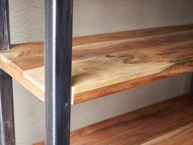 Libreria ferro legno u idea immagine home