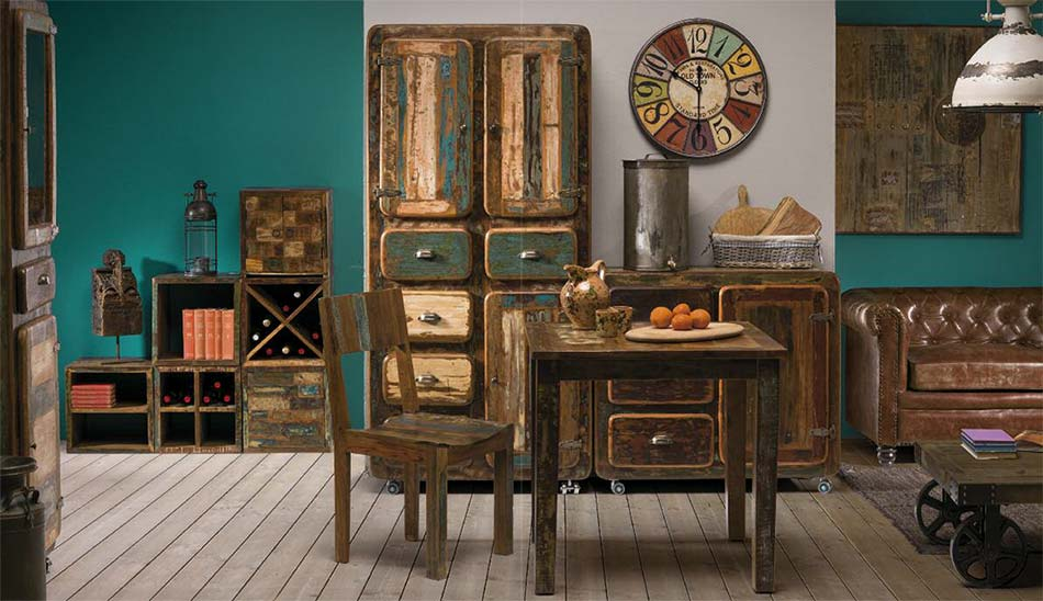 arredamento vintage prezzi mobili vintage retr offerte on line. Black Bedroom Furniture Sets. Home Design Ideas