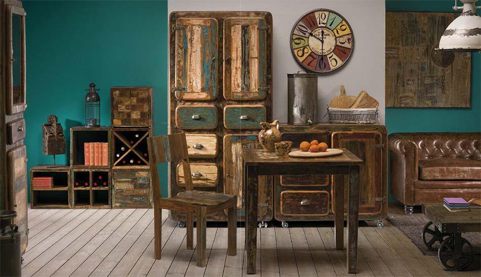 Arredamento vintage moderno mobili retr on line prezzi for Immagini arredamento