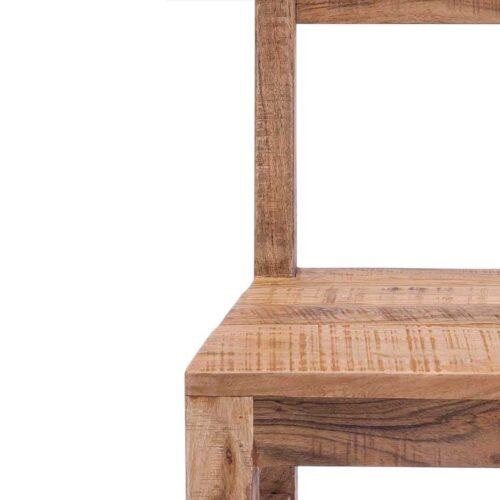 sedia legno etnico