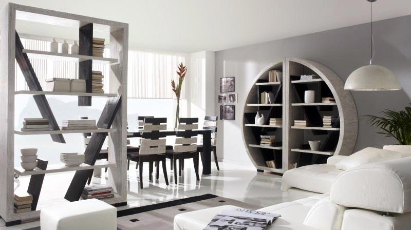 Librerie particolari idee di arredamento per librerie design for Arredamento click