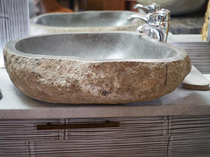 Lavabo In Pietra Per Bagno. Lavabo Angolare With Lavabo In Pietra Per Bagno. Progettando Il ...
