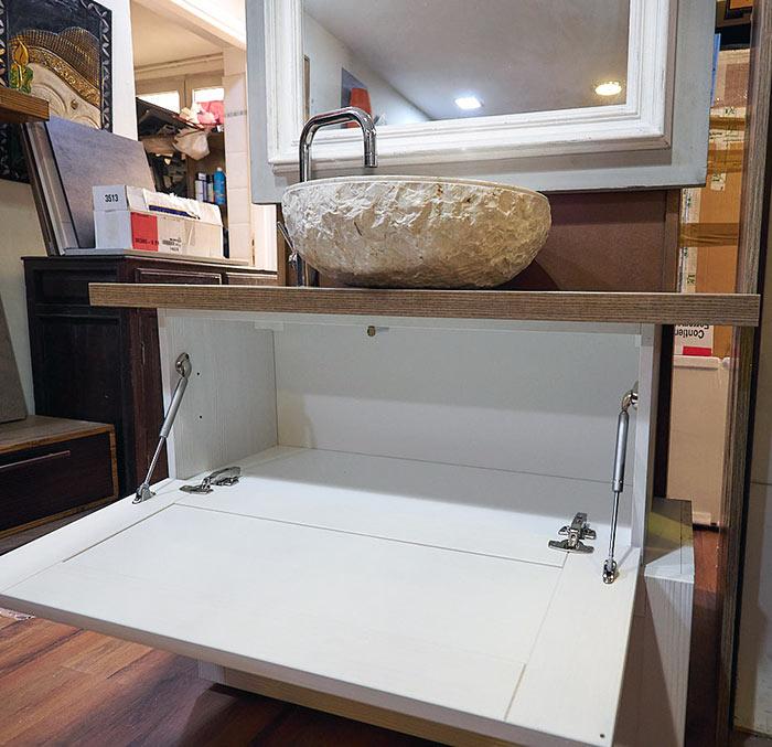 Mobile bagno shabby offerta prezzo arredo bagno completo - Offerta mobile bagno ...