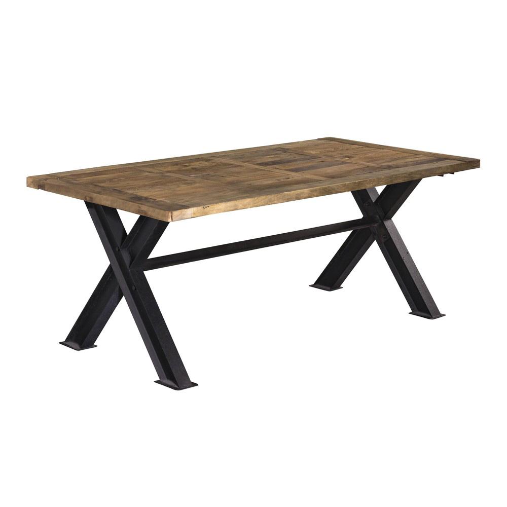 Tavolo ferro e legno offerta prezzo on line occasione for Tavoli on line outlet