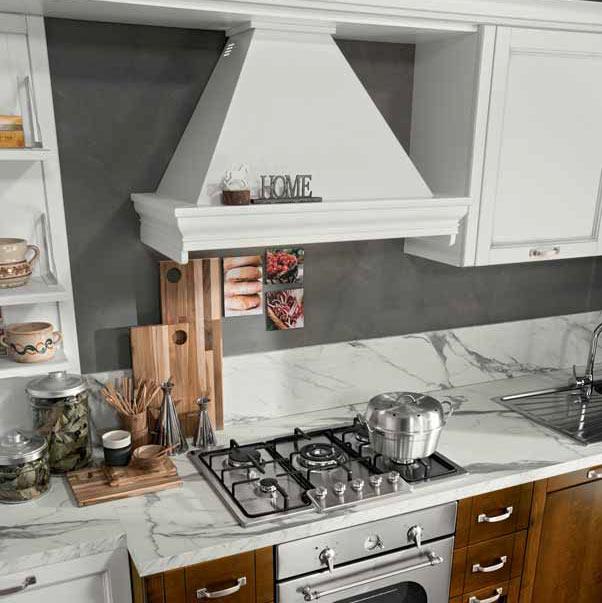 cappa cucina in stile provenza