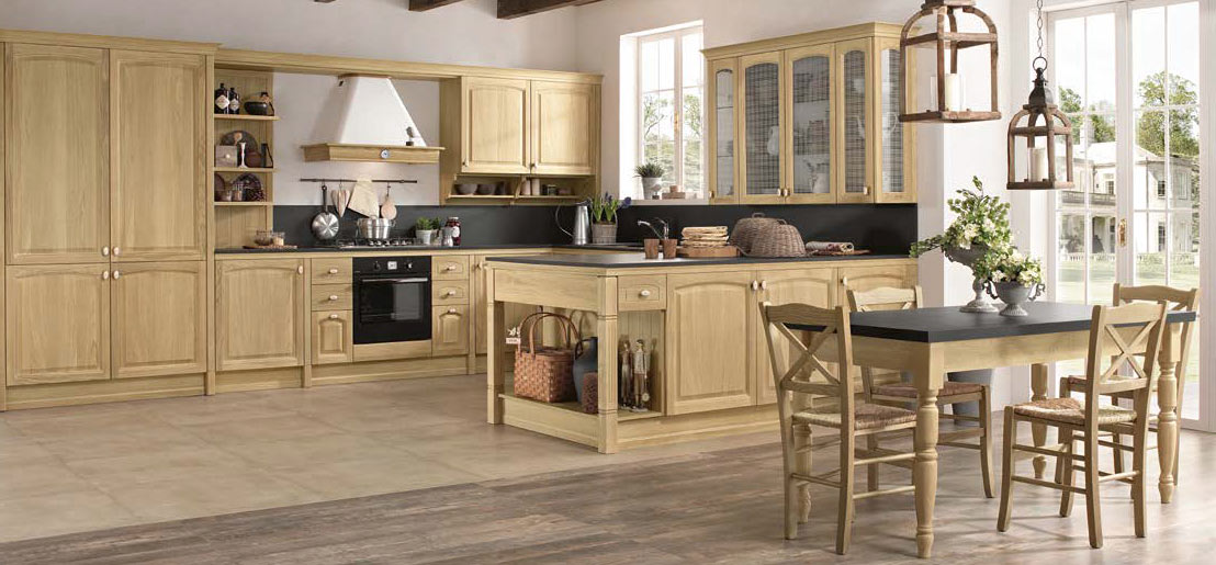 Cucine provenzali moderne in stile shabby chic e country for Cucine stile country