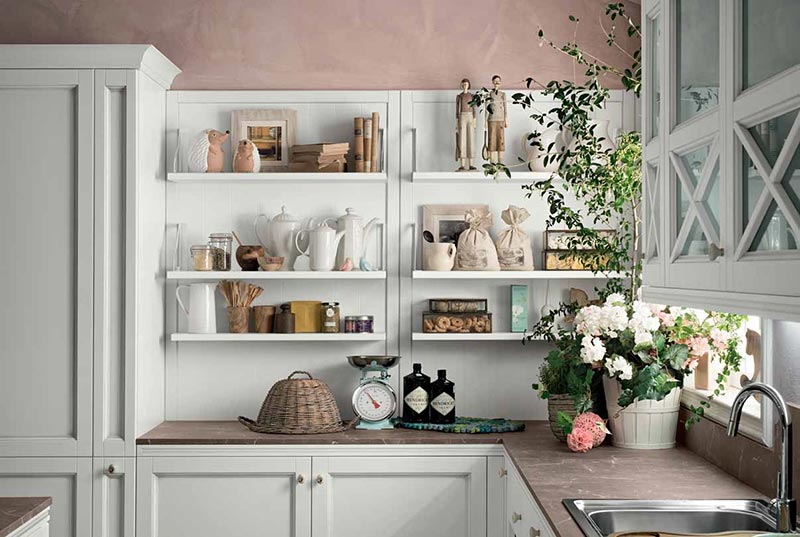 Cucine provenzali moderne in stile shabby chic e country - Cucine country moderno ...