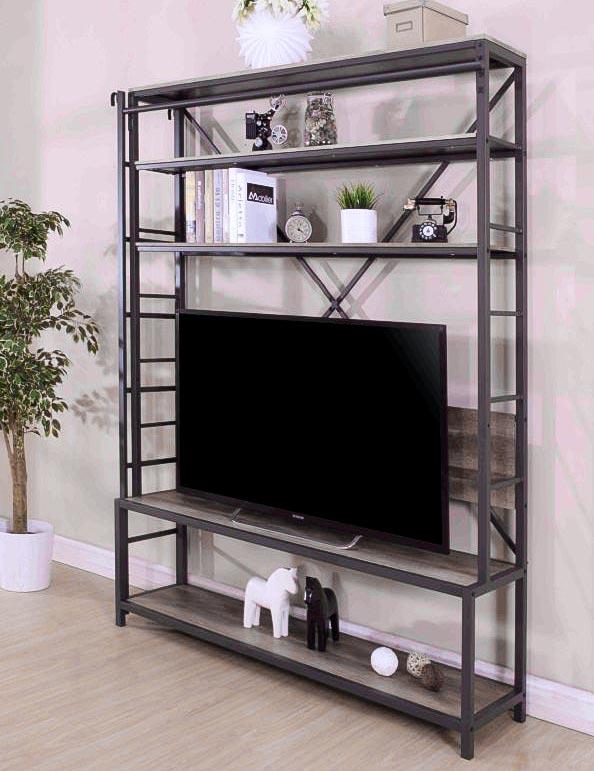 Libreria industrial chic porta tv prezzo offerta outlet