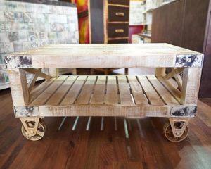 tavolino Industrial riciclo