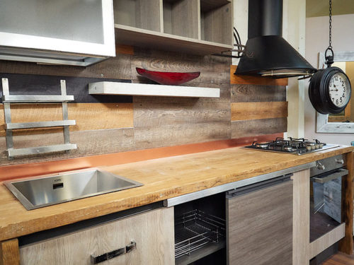 cucina stile industrial offerta