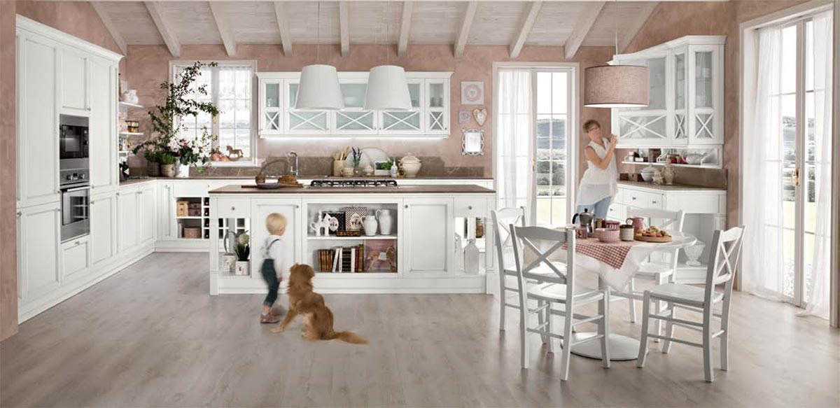 Arredamento contemporaneo mobili contemporanei camera soggiorno - Cucina classica contemporanea ...