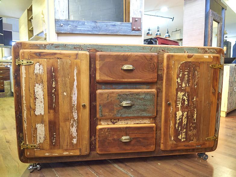 La Credenza Torino Prezzi : Credenza vintage legno riciclato in offerta prezzo outlet