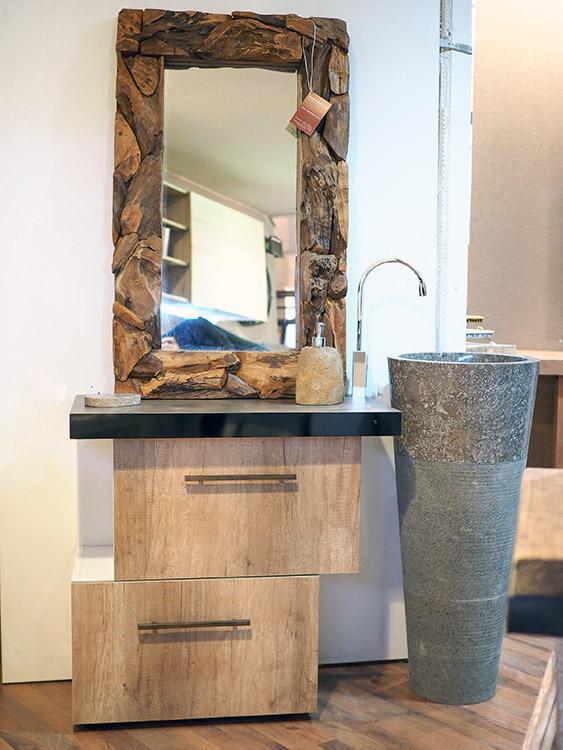 Mobile da bagno con lavello a colonna in marmo offerta - Lavello bagno con mobile ...