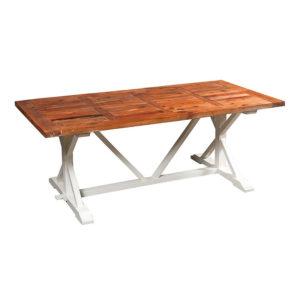 tavolo provenzale decapato
