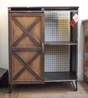 mobile ferro e legno