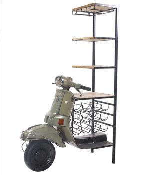 mobile vespa vintage