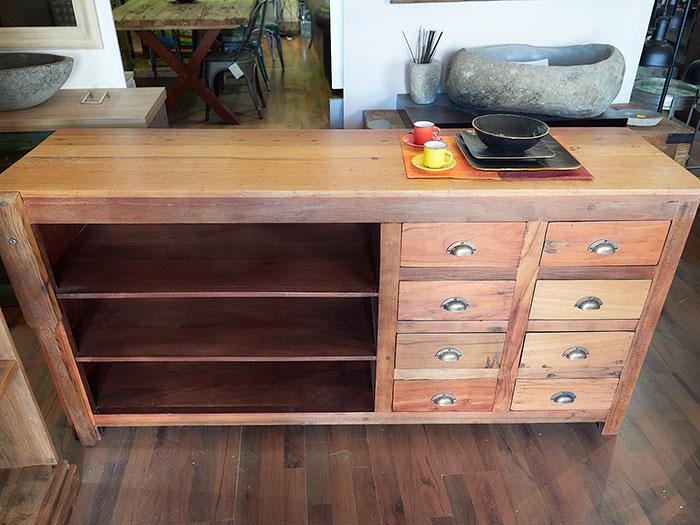 La Credenza Torino Prezzi : Credenza legno massello teak vendita prezzo stock