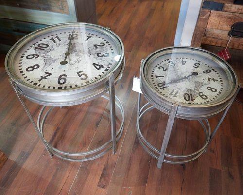 tavolino orologio