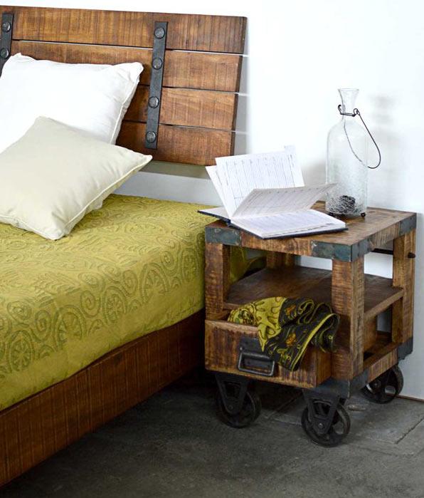 Camere da letto industrial scopri le novit per arredare for Camere da letto arredate da architetti