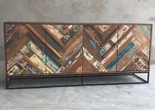 Credenza colorata India