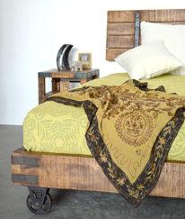 letto legno e ferro