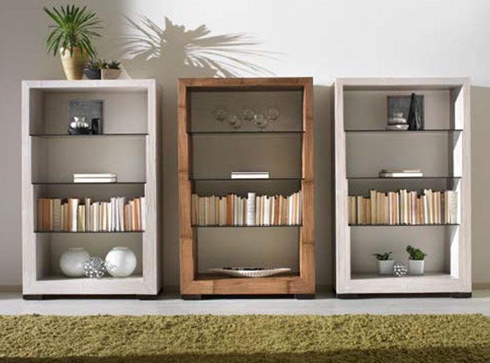 libreria in bambu