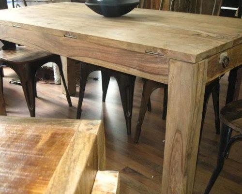 tavolo allungabile massello