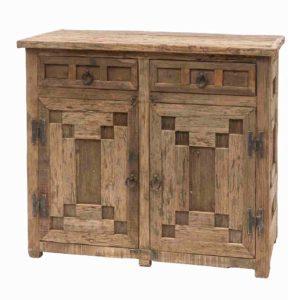 credenza legno massello riciclato