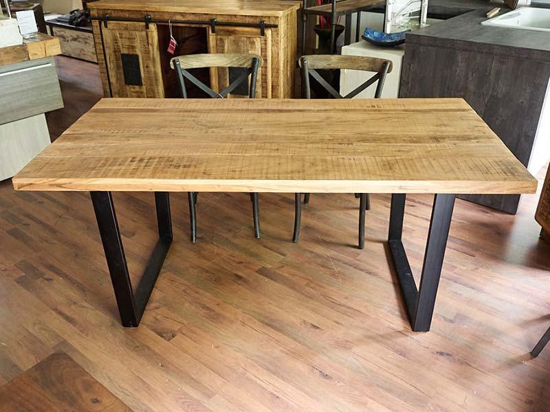 Tavolo legno e ferro bristol