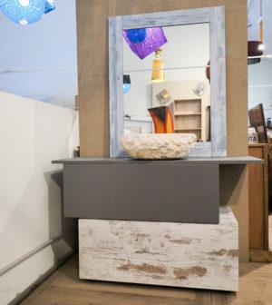 Pareti attrezzate etniche prezzi vendita parete attrezzata for Mobile bagno minimal