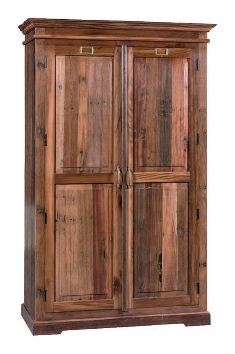 Armadio legno massello sal