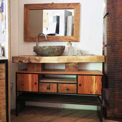 mobile bagno stile etnico
