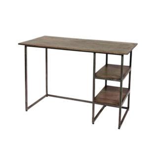 scrivania ferro e legno
