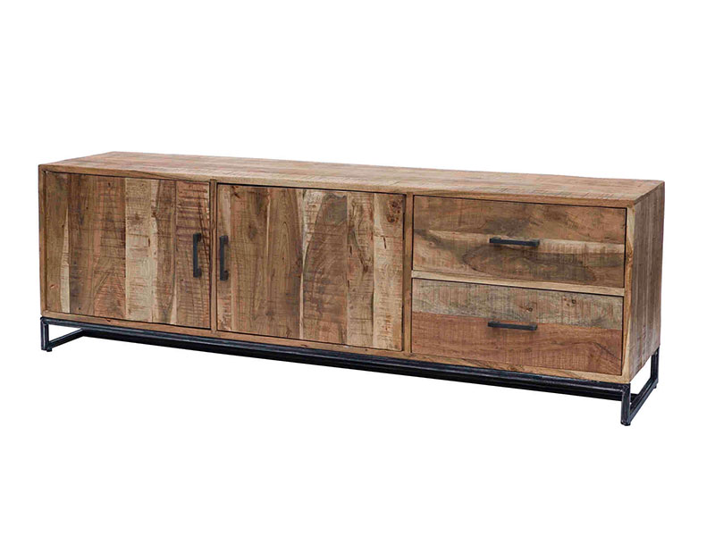 Credenza bassa legno massello - nuovimondi prezzo offerta
