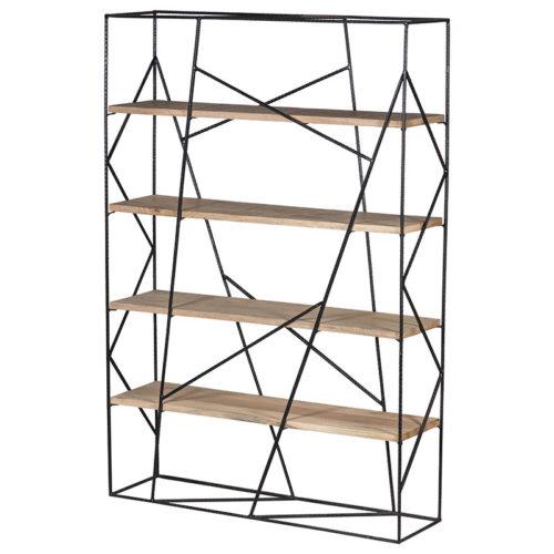 libreria bifacciale design