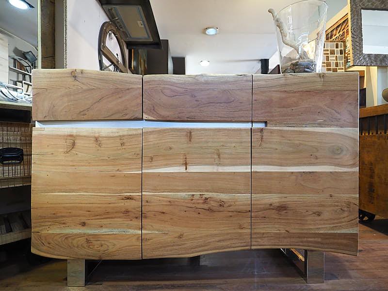 Credenza Moderna Torino : Madia teak design stile etnico moderno prezzo offerta