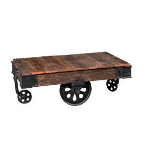 tavolino ruote industrial