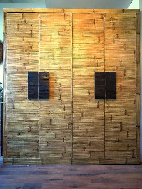 armadio bambu