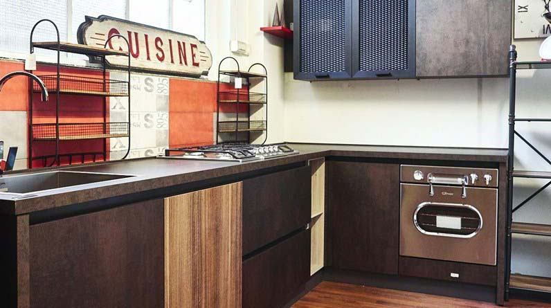 Cucina industrial chic