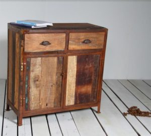 Mobile legno ferro antico