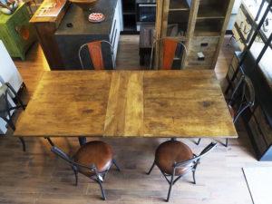 tavolo ghisa allungabile