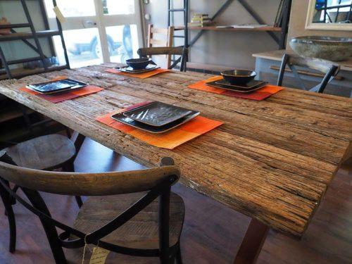 tavolo legno quercia