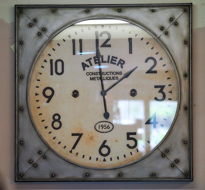 Orologio da parete industrial